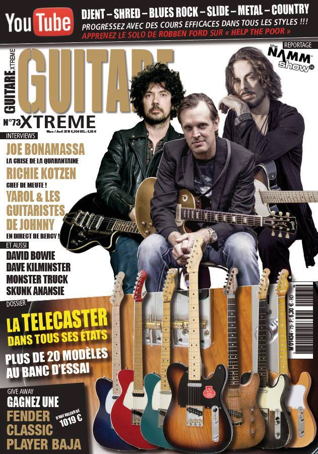 JIMM guitare xtreme interview
